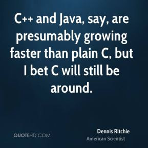 Dennis Ritchie Quotes