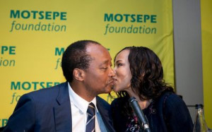 Patrice Motsepe and Dr Precious Moloi-Motsepe. Picture: BRETT ELOFF