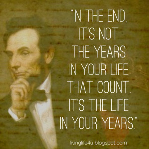 The Wisdom of Abraham Lincoln: Day 4