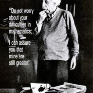 Albert Einstein > Math