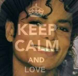Love keep calm and love