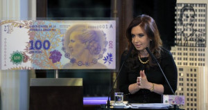 Evita Peron to Emblazon 100-Peso Bill as Argentines Hunt Dollars