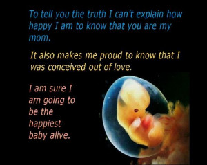 Letter From An Unborn Baby