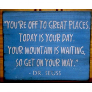 Sage advice from the Cat in the Hat. #DrSeuss