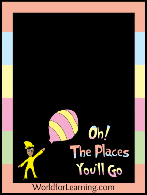 Oh, the Places You'll Go! {FREE Printable – When I Grow Up}