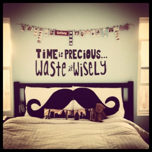 Time Is Precious Waste It Wisely ~ Life Quote