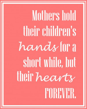 ... mother s day canvas i love this precious quote about mothers and their