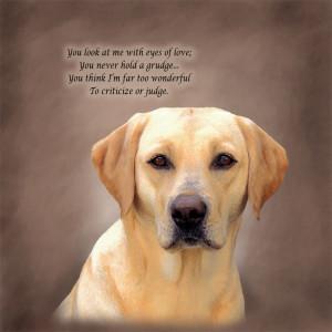 Labrador Retriever Poetic Portraits - Eyes of Love