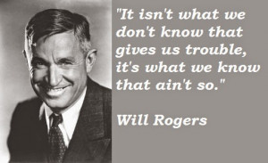 Sooner Politics.org: Will Rogers Tribute to Political Parties
