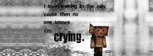 Love Walking In the Rain Cover Photo - Quotes, Love