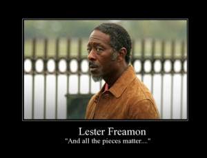 notes freamon the wire hbo quotes police
