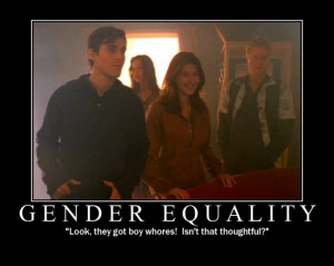 Your Friday Firefly Motivational Poster – Gender Equality