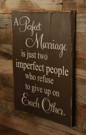 Perfect Marriage Signs