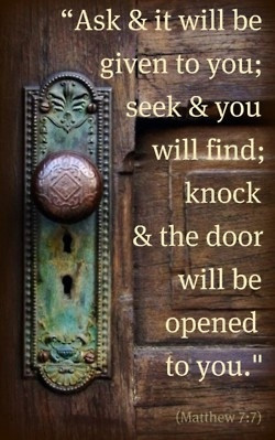 Seek and you will find....