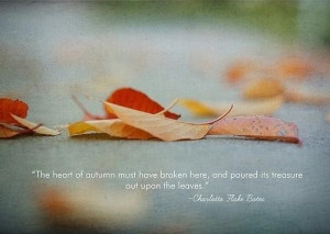 Autumn quotes sayings sad leaves large
