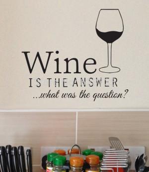 Wine Decals Quotes Quotesgram