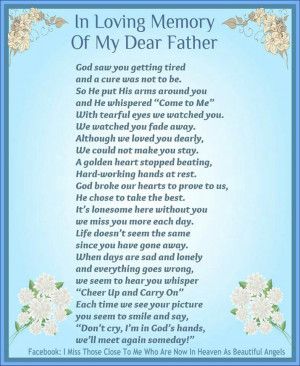 Back > Gallery For > deceased fathers day quotes from daughter
