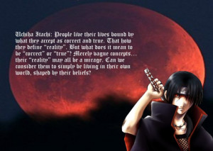 Re: Itachi Quotes
