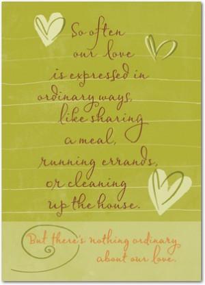 Hallmark Love Cards For Him Extraordinary love - birthday