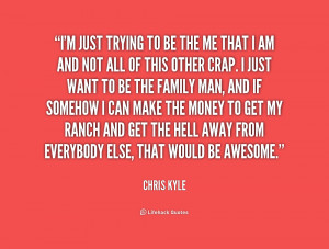 You may show original images and post about Chris Kyle Quotes in here ...