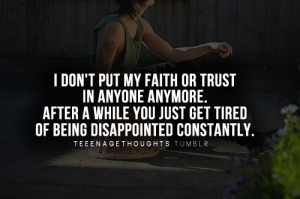 don t put your fait or trust in anyone # dont trust anyone # trust ...