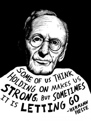 ... on / letting go.. Hermann Hesse (Authors Series) by Ryan Sheffield