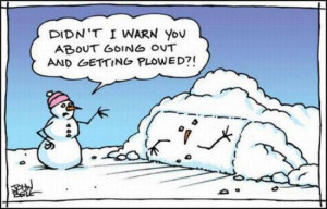 WINTER CARTOONS - 1