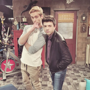 Photos Bradley Steven Perry & Austin North Hanging Out May 13 2015