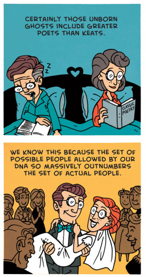 death quotes atheist science richard dawkins ZEN PENCILS