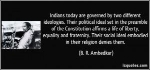 More B. R. Ambedkar Quotes
