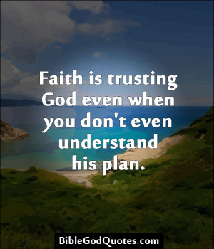 confidence in god even in chaos So all possible order is the inevitable outcome of any chaos  in existence is in  accordance with god's plan and therefor order, even though we humans in our.