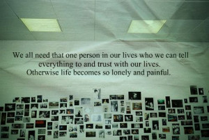 person in our lives who we can tell everything to and trust with our ...