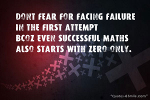 Quotes About Overcoming Fear Overcome Fear of Failure And