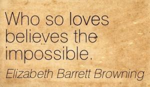 Elizabeth Barrett Browning quote