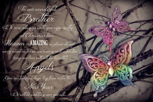 ... › Portfolio › My Wonderful Brother - Christmas Card from Heaven