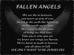 fallen angel quotes and sayings Images For Angel Pictures With Quotes