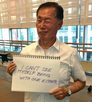 George Takei Tackles Teen Hate Signs - http://robotmutant.com/george ...