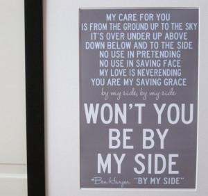 By My Side- Ben Harper Sweet Ben