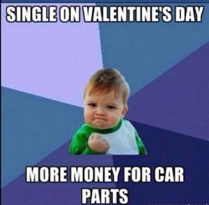 valentines funny quotes single