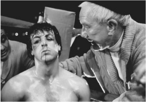 Sylvester Stallone (Rocky) – Burgess Meredith (Mickey) - Faltando 1 ...