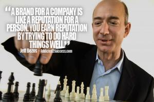 Jeff Bezos Entrepreneur Picture Quote For Success