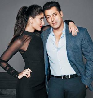 Kareena Kapoor and Salman Khan on Filmfare Blockbuster team
