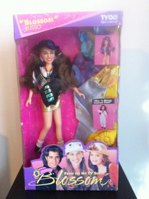 SWEETHEART Blossom Russo Vintage 90s Toy Doll Action Figure box tv ...