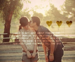 not about how much love you have in the beginning but how much love ...