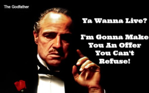 the godfather, an offer you can't refuse, quote, marlin brando