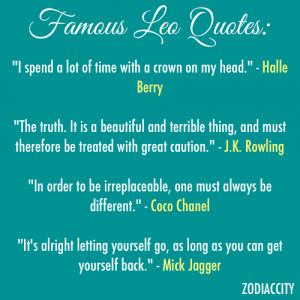 Leo Quotes Zodiac