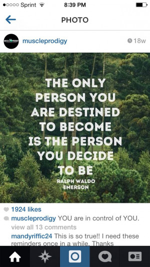 Decide to become great!!