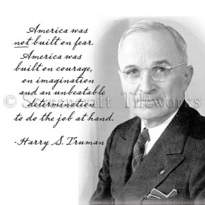 Harry Truman Quotes Truman portrait quote