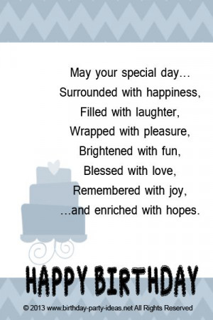 Happy Birthday Cute Sayings