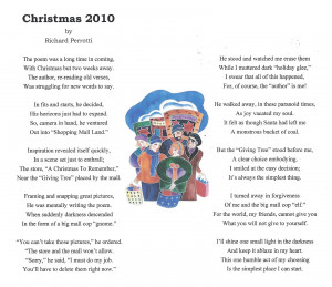 Christmas 2010 2 Inspirational Stories Poems